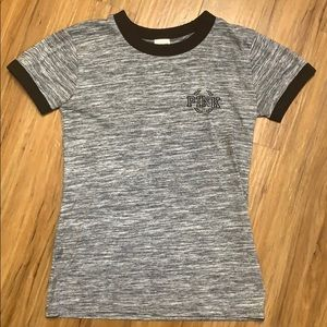 Heathered grey t-shirt from Pink Victoria's Secret